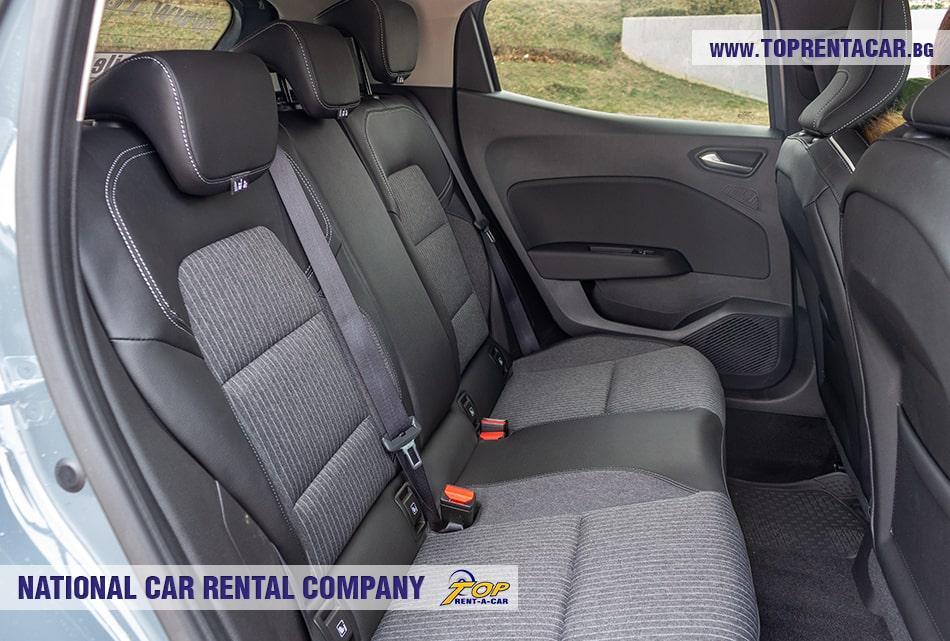 Renault Clio V 2020 - back seats