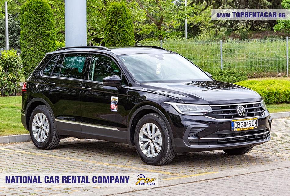 VW Tiguan for rent