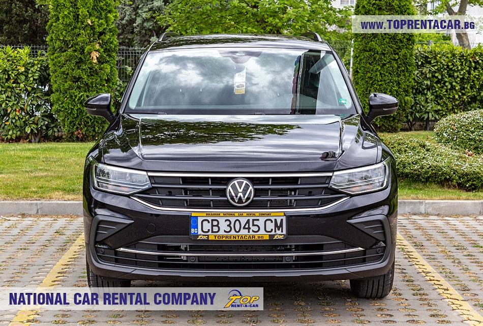 VW Tiguan front view
