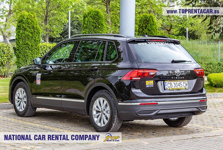 VW Tiguan rear view