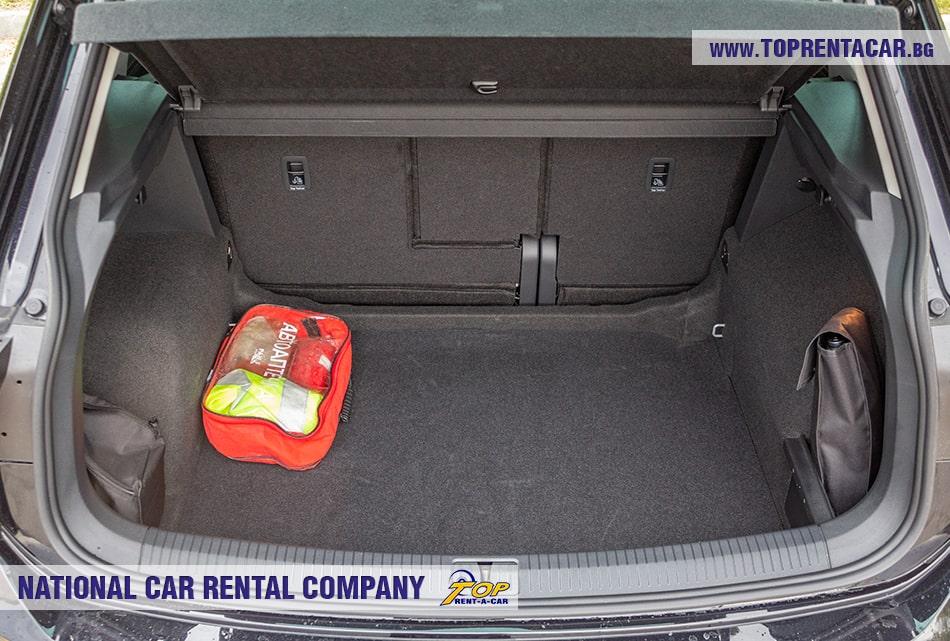 VW Tiguan trunk