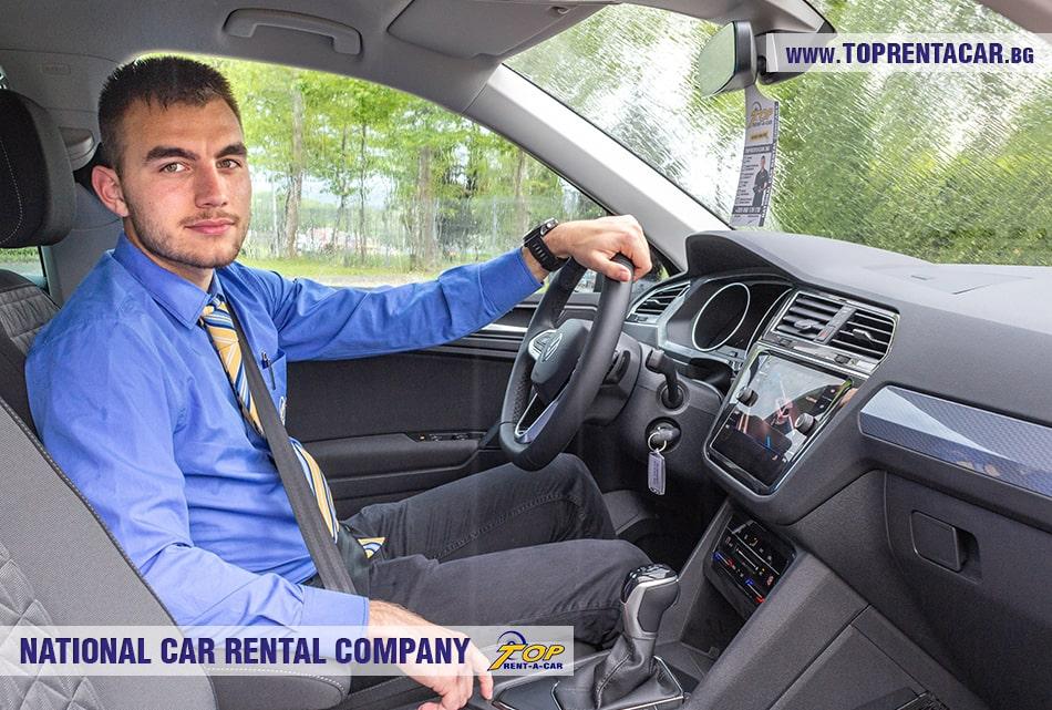VW Tiguan car rental from Top Rent A Car