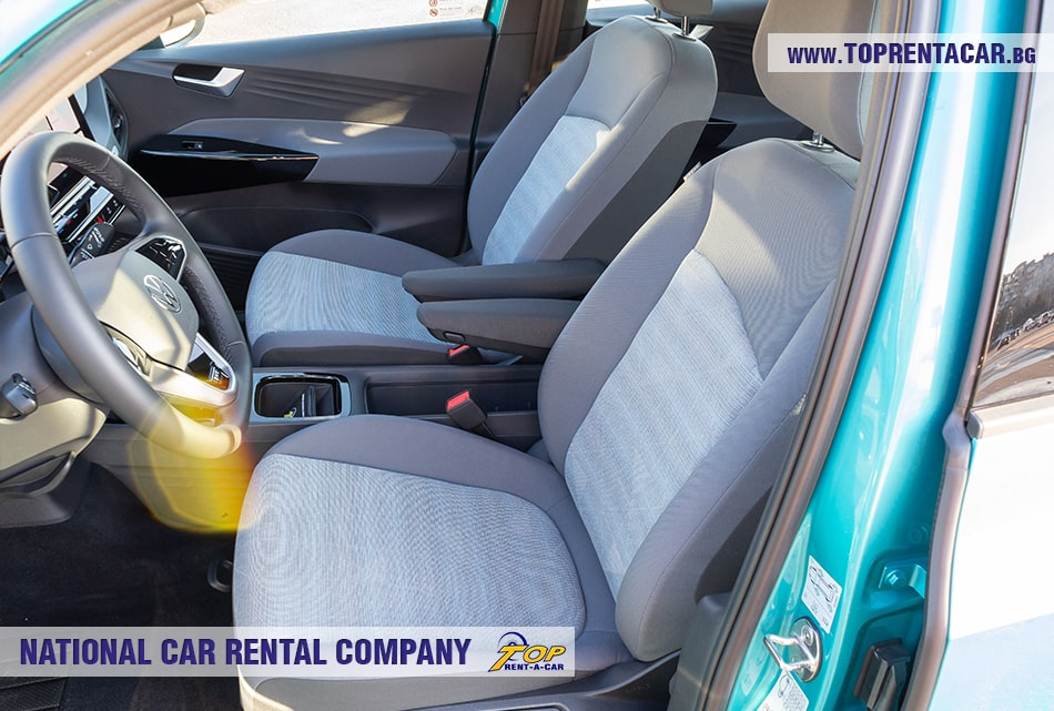 VW ID.3 front seats