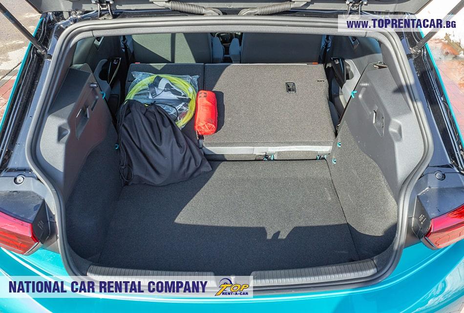 VW ID.3 trunk