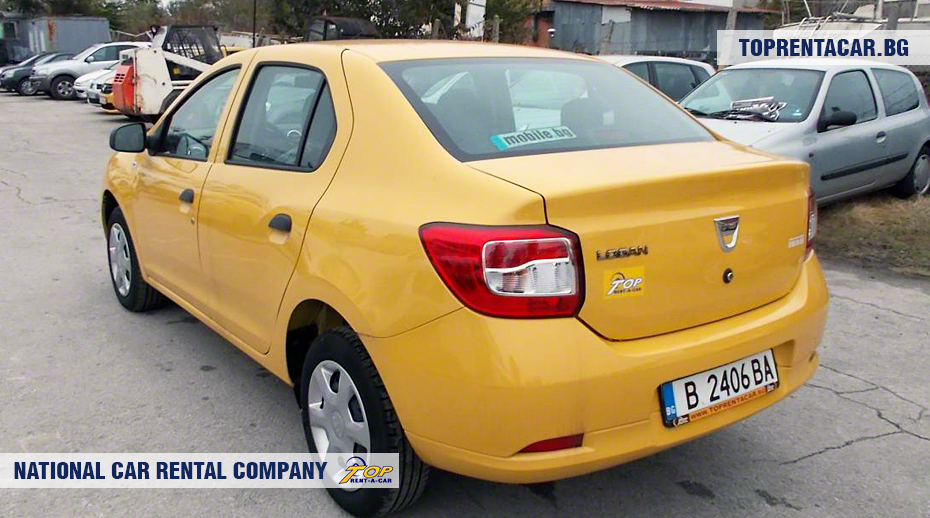 Dacia Logan - rear view
