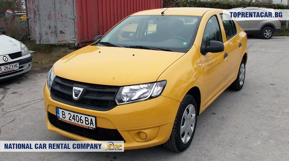 Dacia Logan - front view