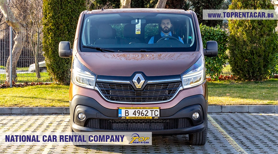 Renault Trafic 2021 for rent
