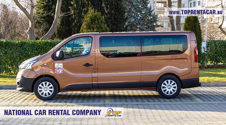 Renault Trafic - side view