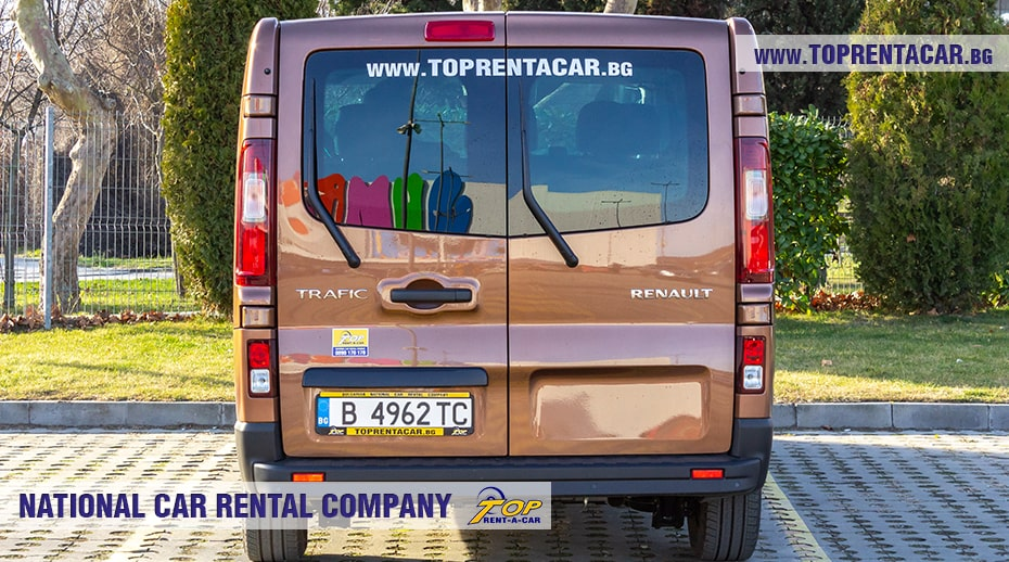 Renault Trafic 2021 - back view