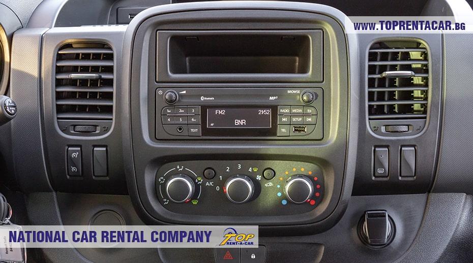 Renault Trafic - multimedia