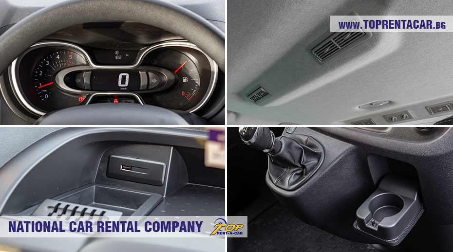 Renault Trafic 2021 - interior