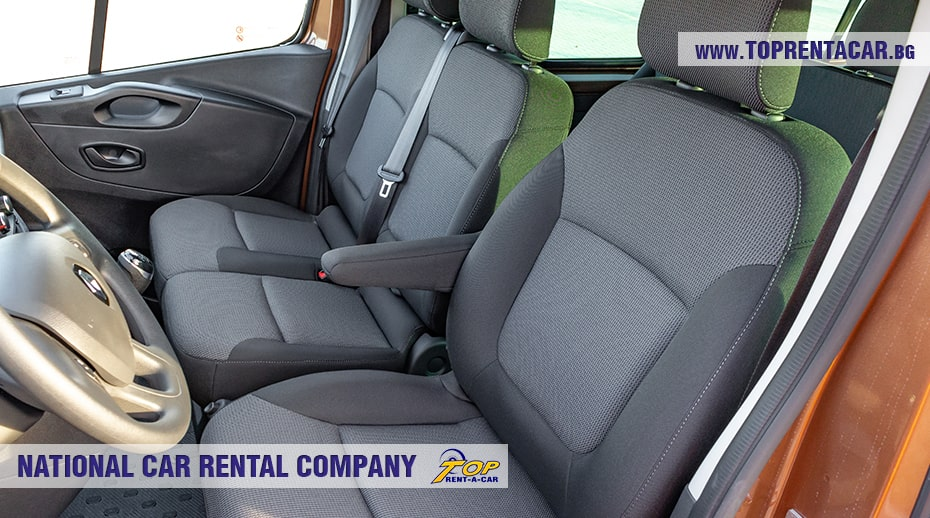 Renault Trafic - front seats