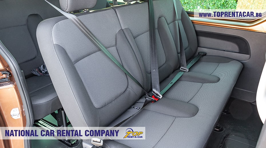 Renault Trafic - second row seats