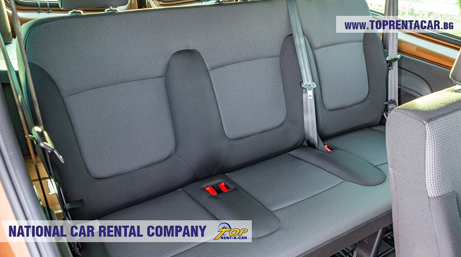 Renault Trafic - third row seats