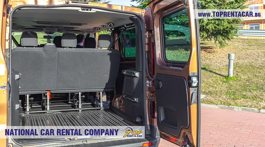 Renault Trafic 2021 - trunk