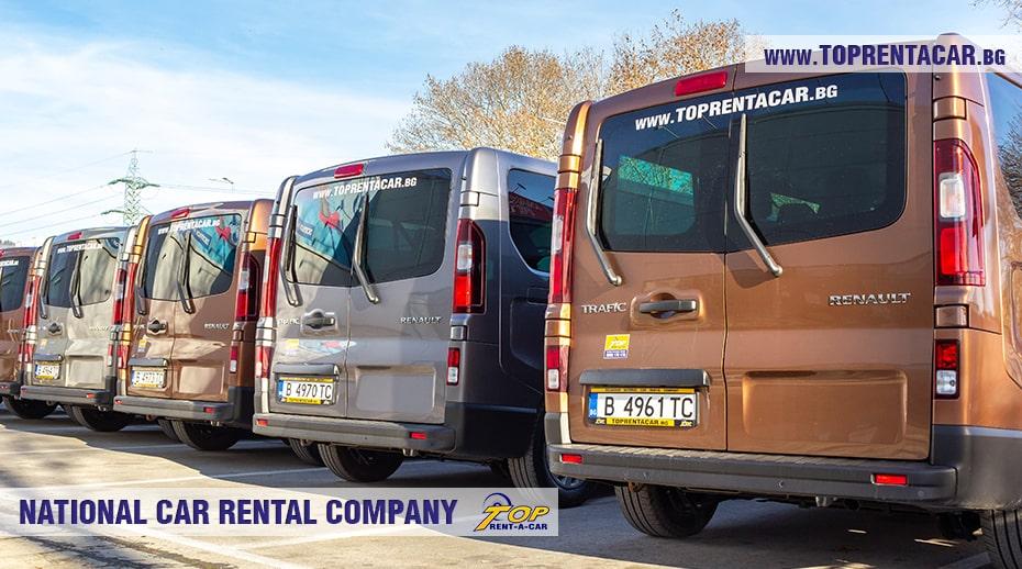 Renault Trafic Minibus for rent