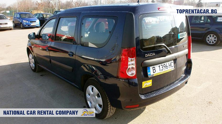 Dacia MCV - изглед отзад