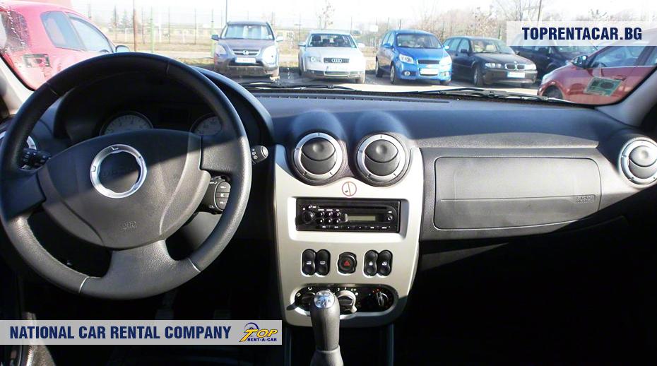 Dacia MCV - изглед отвътре