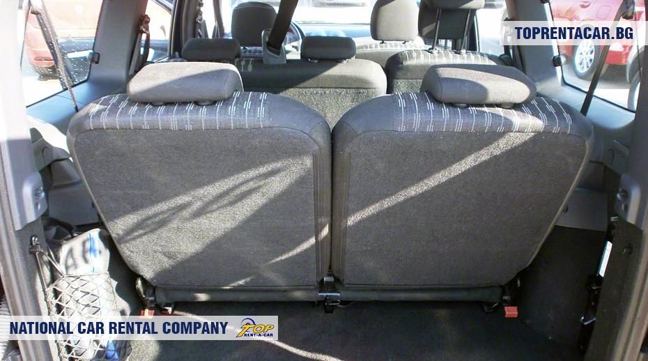Dacia MCV - изглед на багажника