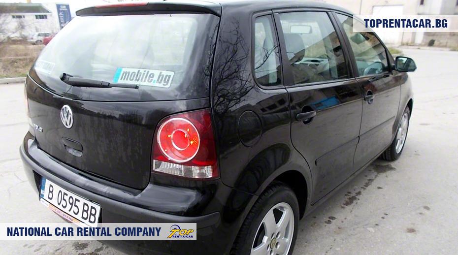 VW Polo - изглед отзад