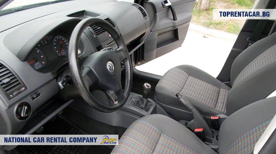 VW Polo - изглед отвътре