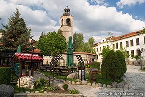 Централната част на Банско