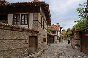 Старите къщи в Банско