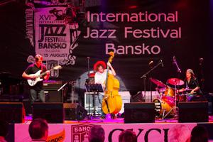 Джаз Фестивалът в Банско