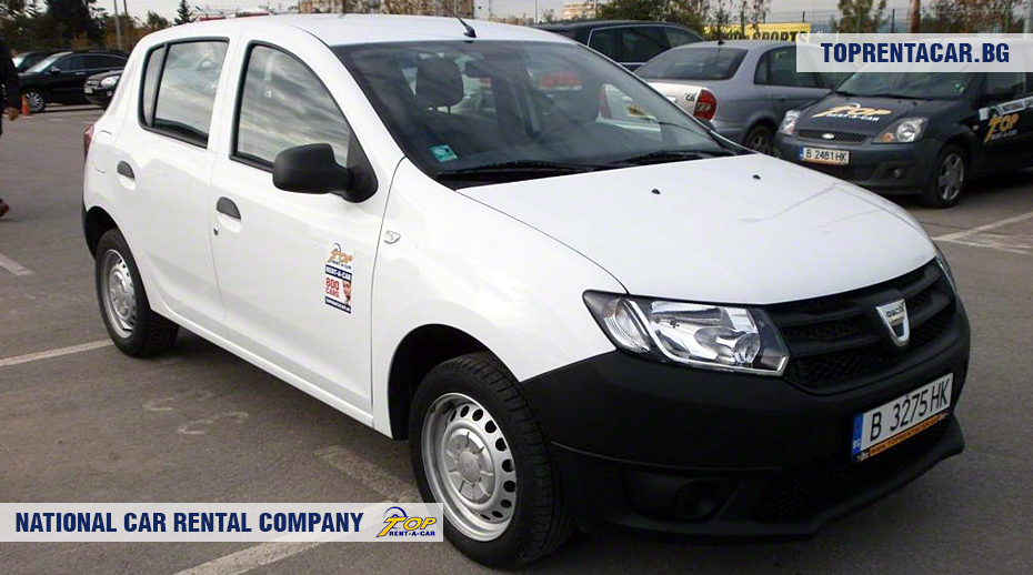 dacia sandero edmn car rental top rent a car. Black Bedroom Furniture Sets. Home Design Ideas