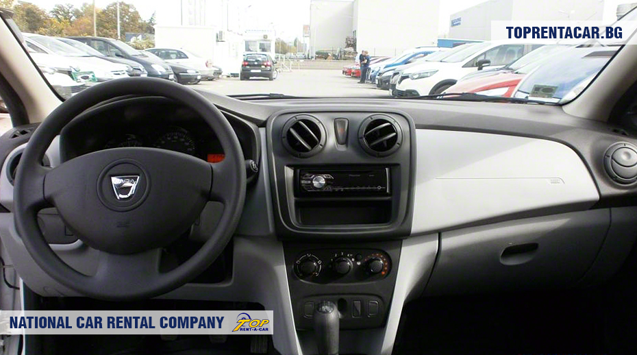 Dacia Sandero - inside view