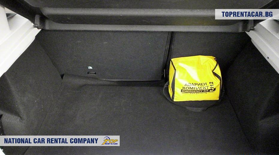 Dacia Sandero - изглед на багажника