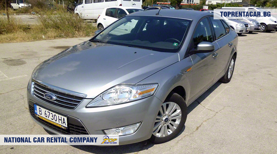 Ford Mondeo - front view
