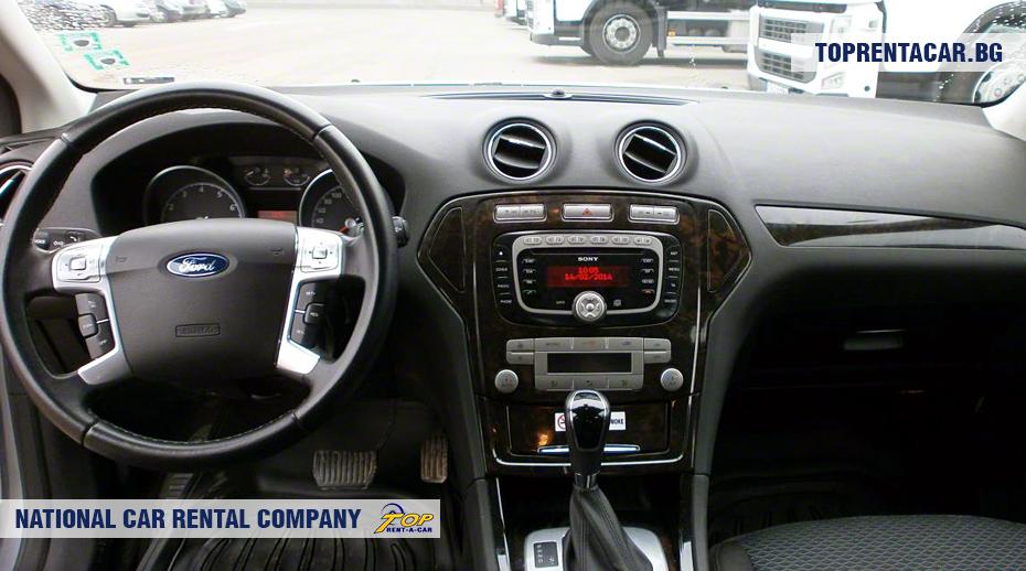 Ford Mondeo - изглед отвътре