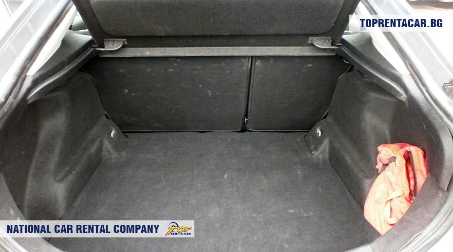 Ford Mondeo - изглед на багажника