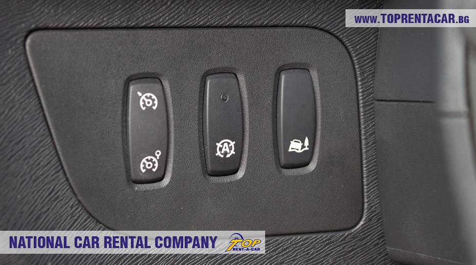 Renault Kangoo - boutons