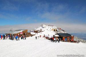Ski track in Borovets