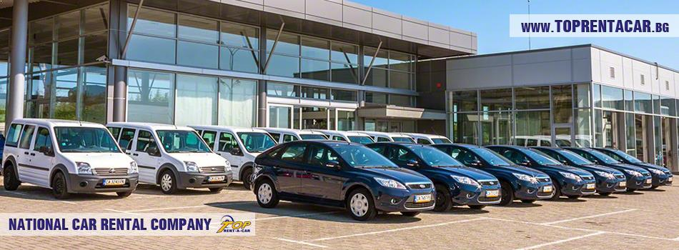 car fleet of Top Rent A Car