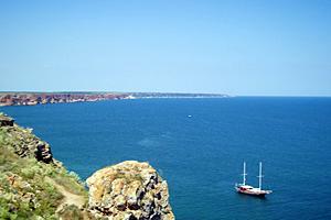 Панорама край Черноморец