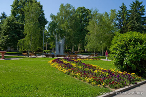 Park in Hisarya