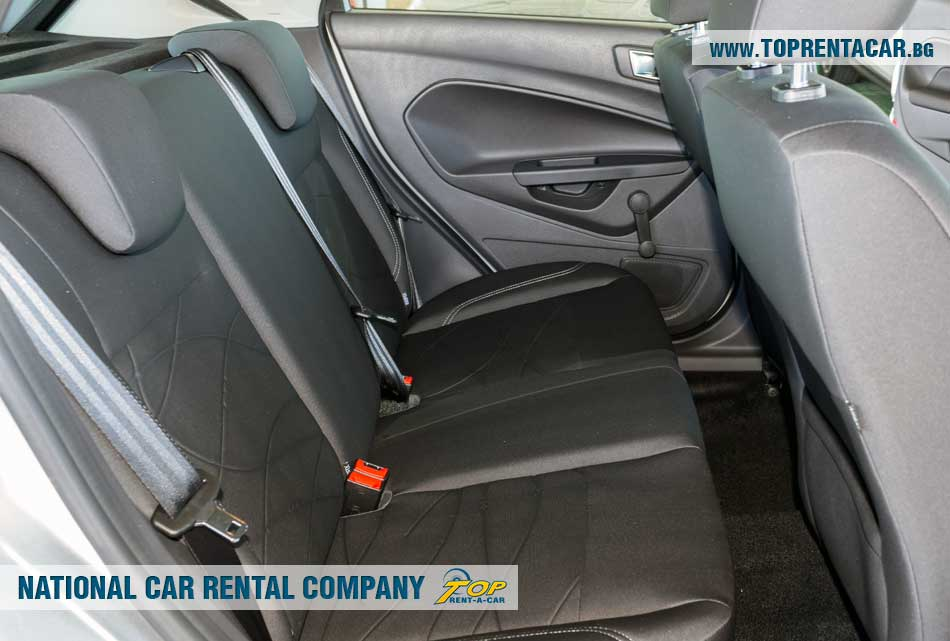 Ford Fiesta EcoBoost from Top Rent A Car