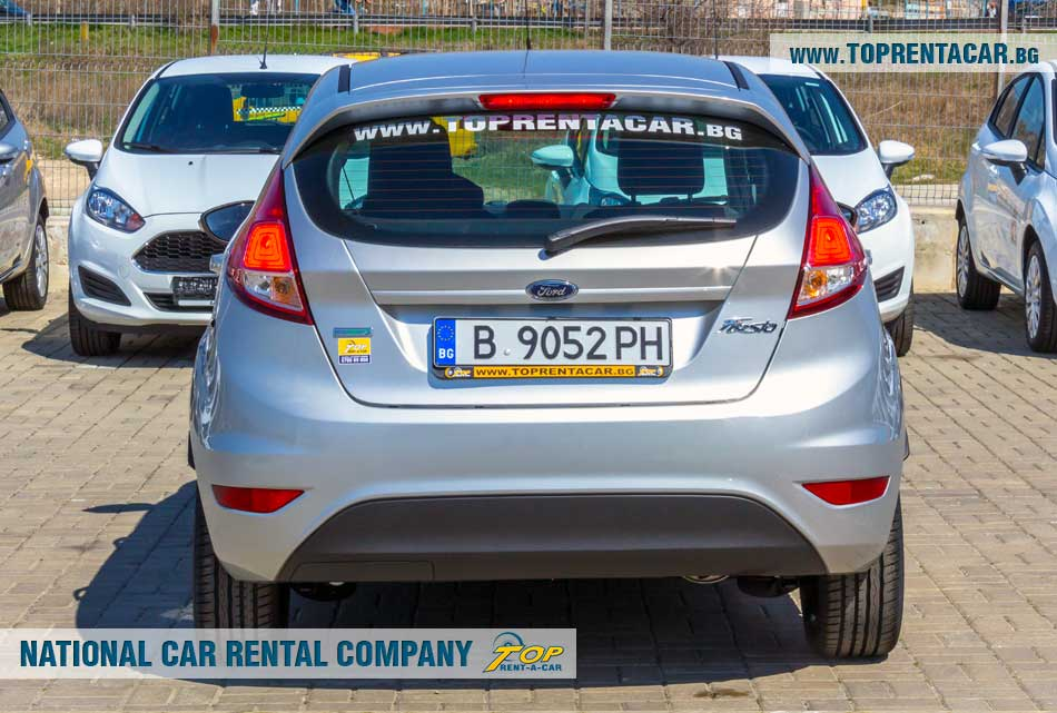 Ford Fiesta EcoBoost - back view