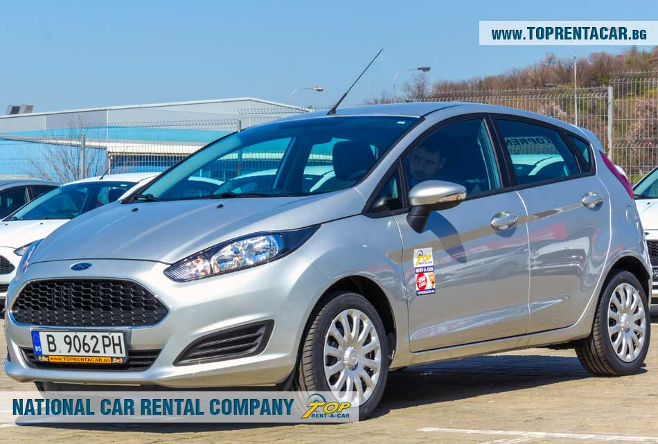 Ford Fiesta EcoBoost - front view