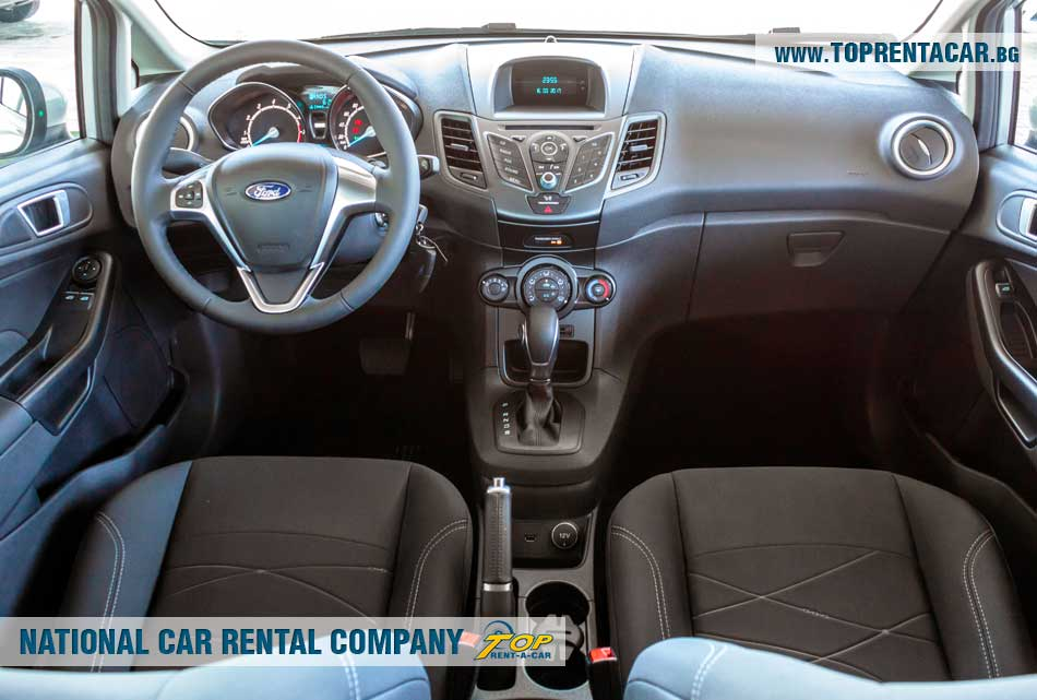 Ford Fiesta EcoBoost - inside view