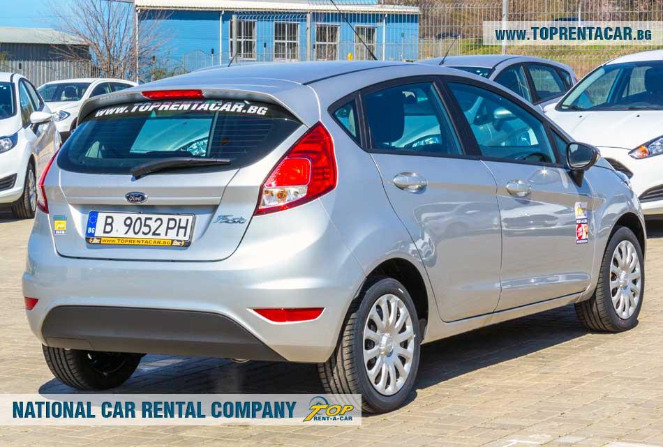 Ford Fiesta EcoBoost - back