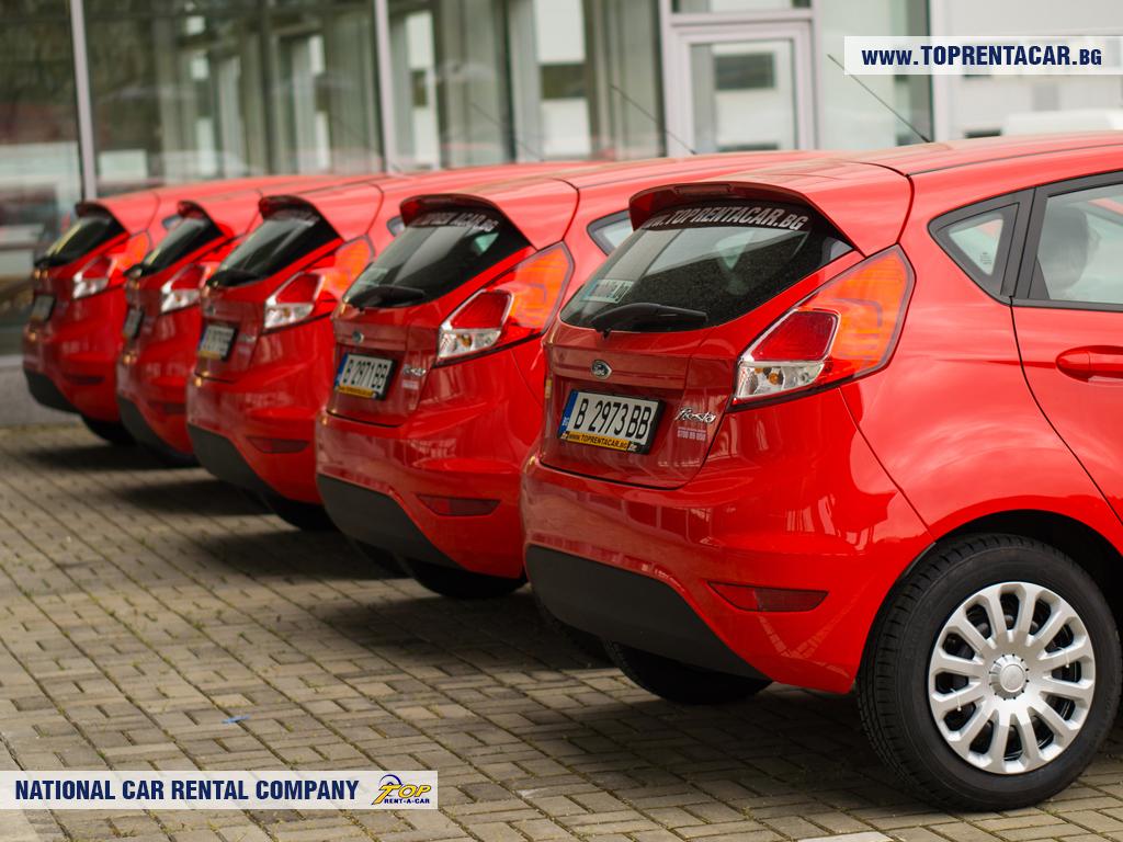 Ford Fiesta de Top Rent A Car