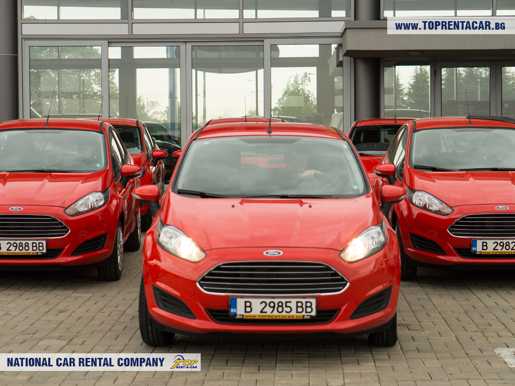 Ford Fiesta from Top Rent A Car