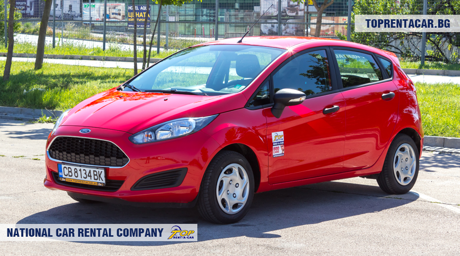 Ford Fiesta front view