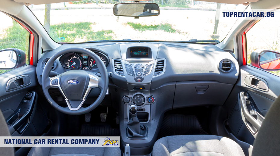 Ford Fiesta inside view